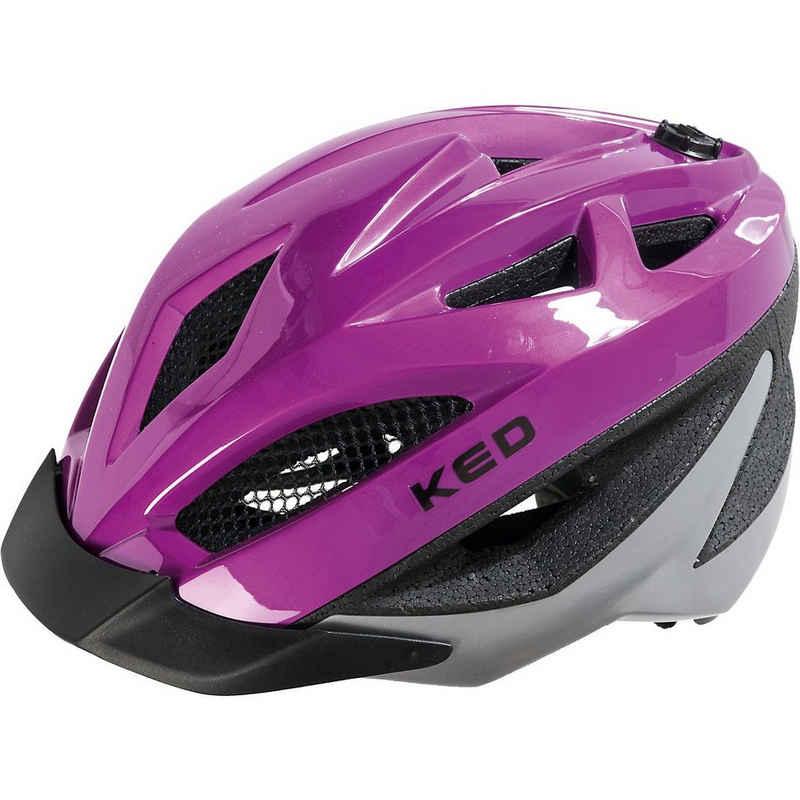 KED Helmsysteme Kinderfahrradhelm »Fahrradhelm Gekko, pink«