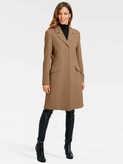newest a0c83 3d528 Mantel in braun online kaufen | OTTO