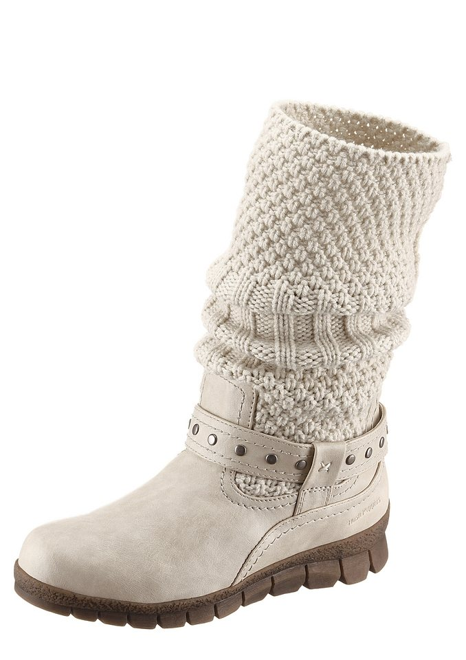 Stiefel, Hush Puppies in offwhite