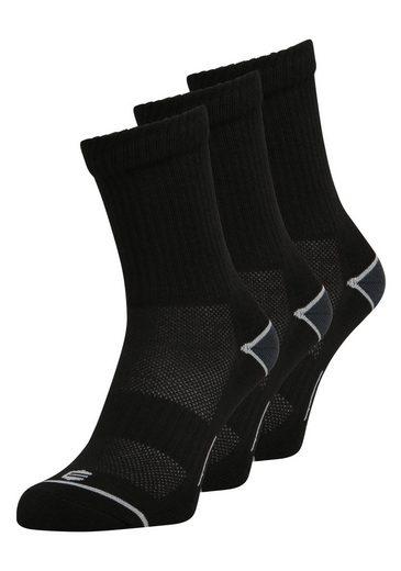 ENDURANCE Socken »Hoope Crew« (3-Paar) im 3er Pack mit Mesh-Material