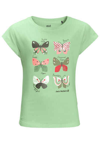 Jack Wolfskin T-Shirt »BUTTERFLY T GIRLS«