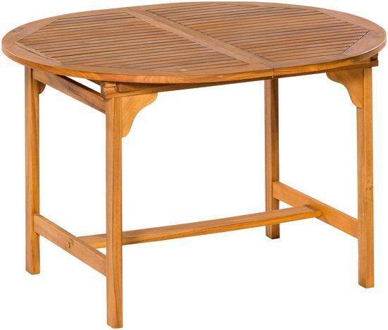 MERXX Gartentisch, 100x120-170 cm