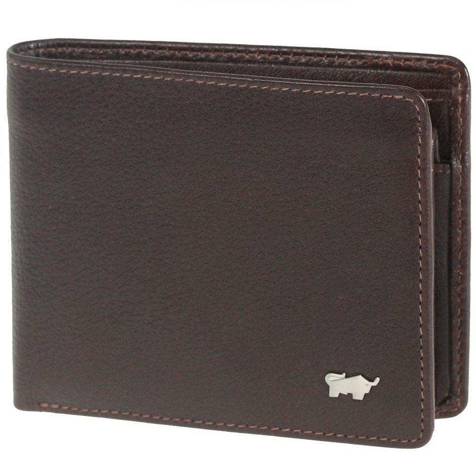 Braun Büffel Firenze Geldbörse Leder 10,5 cm in braun
