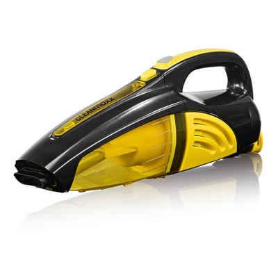 CLEANmaxx Akku-Handstaubsauger, 35 Watt, gelb/schwarz