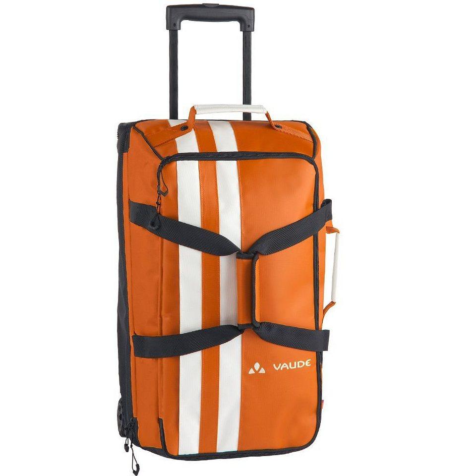 Vaude New Islands Tobago 65 2-Rollen Reisetasche 61 cm in orange