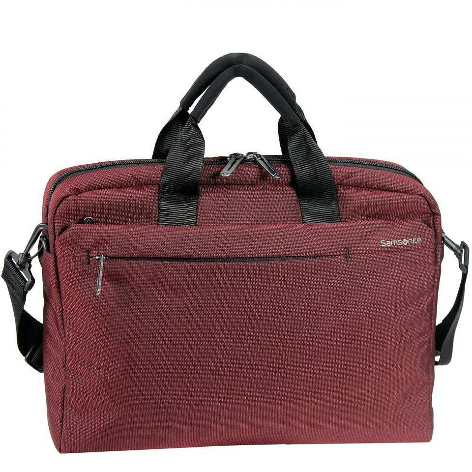 Samsonite Network 2 Tablet Netbook Bag Laptoptasche 38,5 cm in ionic red
