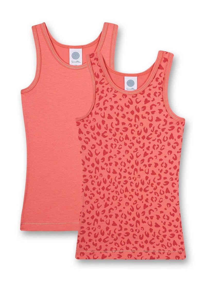 Sanetta Unterhemd »Mädchen Unterhemd, 2er Pack - Shirt ohne Arme,«