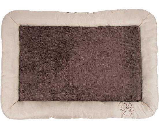Eddy Toys Tierbett »Hundebett Beige Braun 80 x 58 cm«