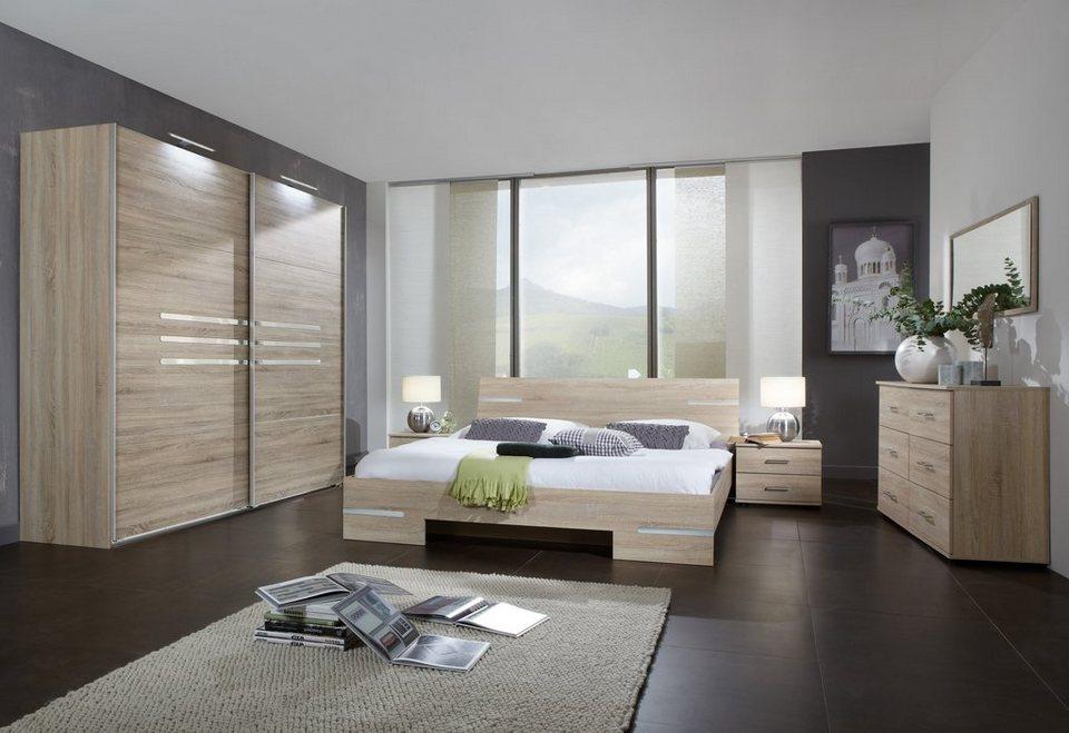Wimex Schlafzimmer-Set »Anna«, 4-teilig, Holzdekore mit besonderer ...