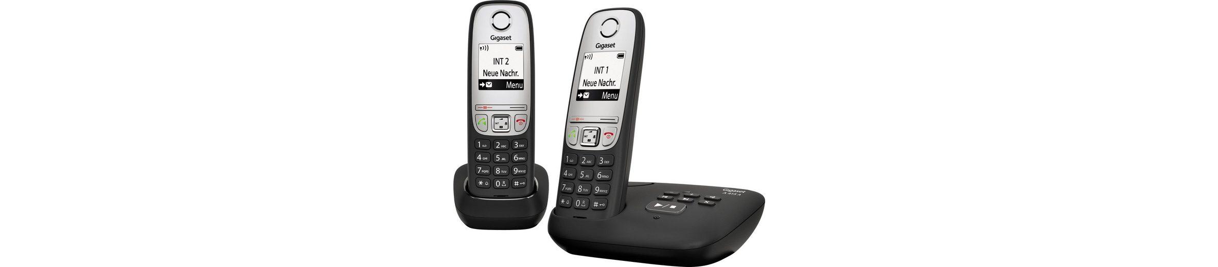 Gigaset A415A DUO Schnurloses DECT Telefon-Set mit AB