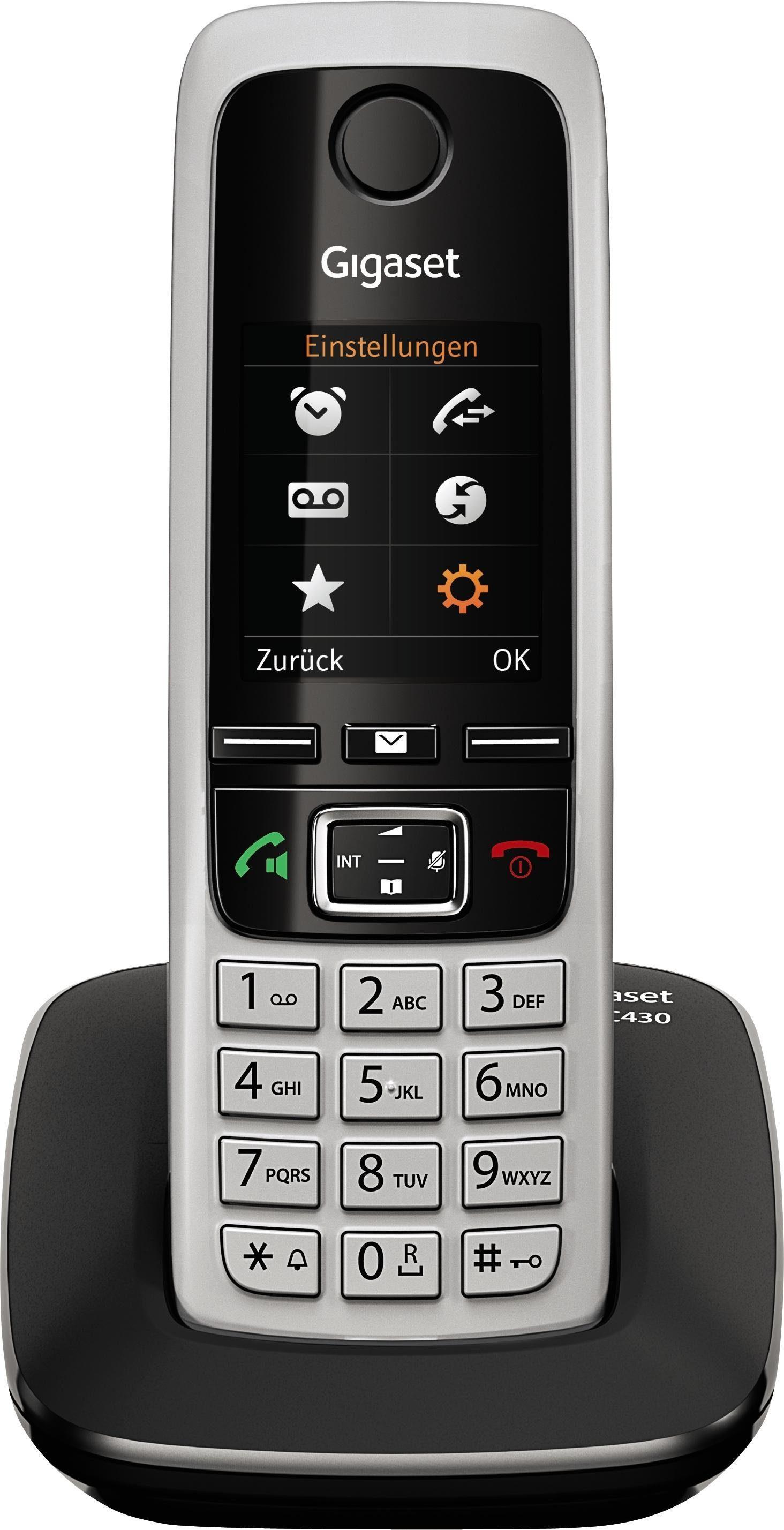 Gigaset C430 Schnurloses DECT Telefon
