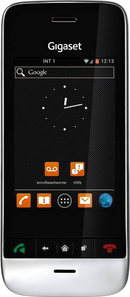 Gigaset SL930 A Schnurloses DECT Telefon mit AB in schwarz