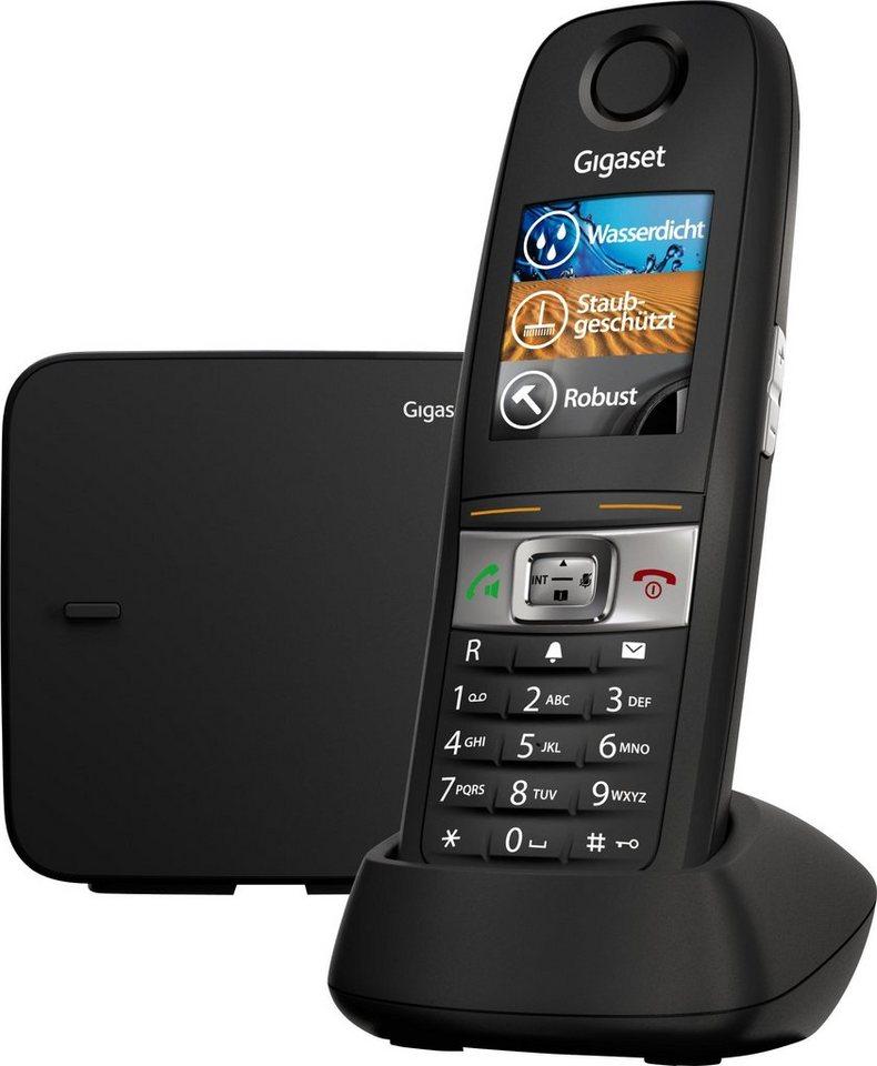 gigaset e630 schnurloses dect telefon mobilteile 1. Black Bedroom Furniture Sets. Home Design Ideas