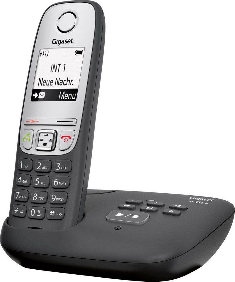 gigaset a415a schnurloses dect telefon mobilteile 1. Black Bedroom Furniture Sets. Home Design Ideas
