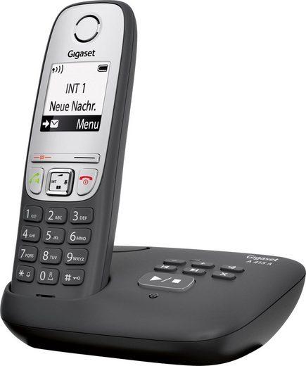 Gigaset »A415A« Schnurloses DECT-Telefon (Mobilteile: 1, mit Anrufbeantworter)