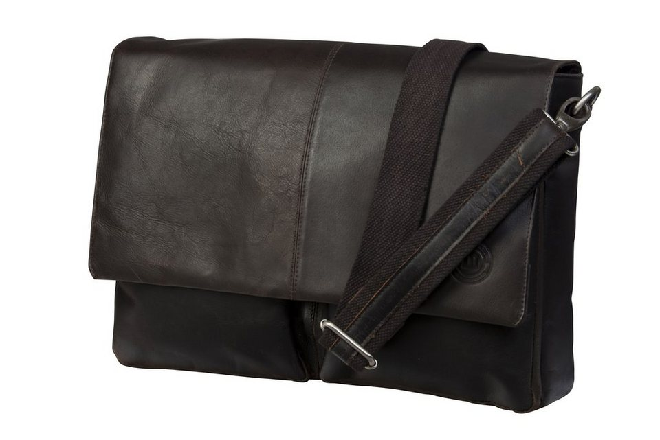 "dbramante1928 Ledertasche »Messenger MacBook 13"" Hunter Dark« in braun"