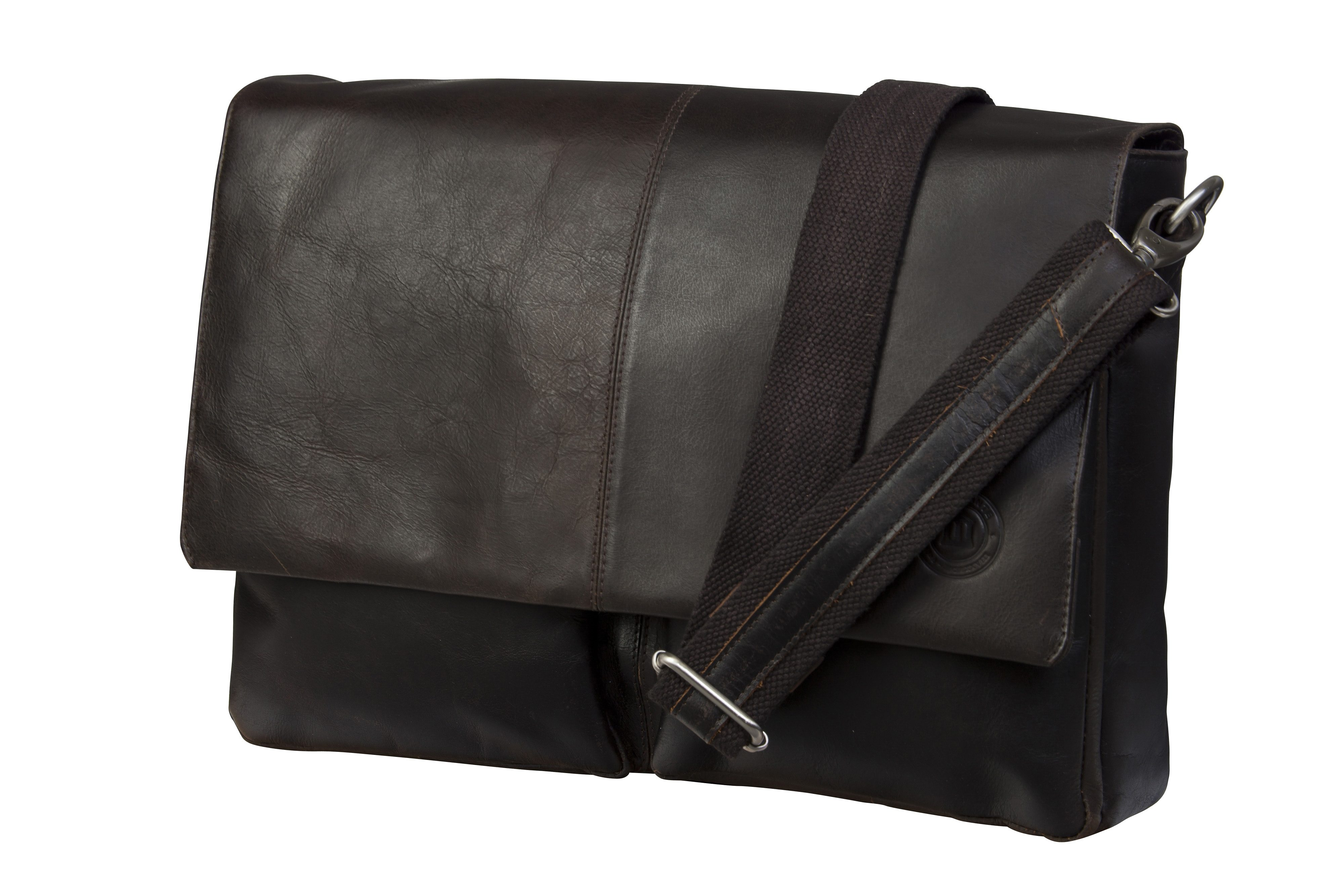 "dbramante1928 Ledertasche »Messenger MacBook 13"" Hunter Dark«"