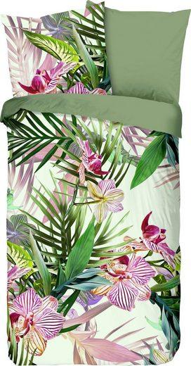Wendebettwäsche »Lela«, good morning, mit Orchideen