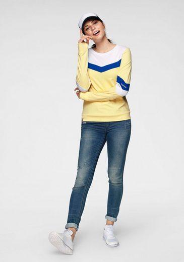 Großer Rabatt KangaROOS Sweatshirt in sportiv farbenfrohem Look