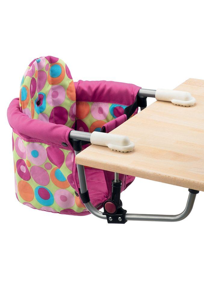 CHIC4BABY, Tischsitz mit universellem Befestigungssystem, pink »RELAX«