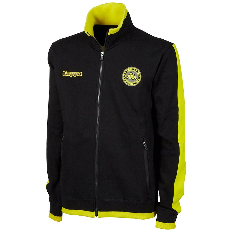 KAPPA Sweatjacke »SOCCER SWEATJACKE« in black