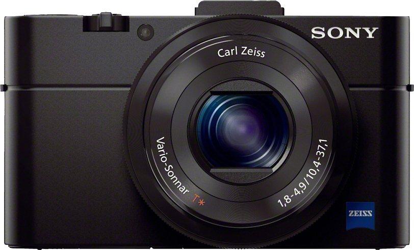 Sony Cyber-Shot DSC-RX100M2 Kompakt Kamera, 20,2 Megapixel, 2,9x opt. Zoom, 7,5 cm (3 Zoll) Display in schwarz