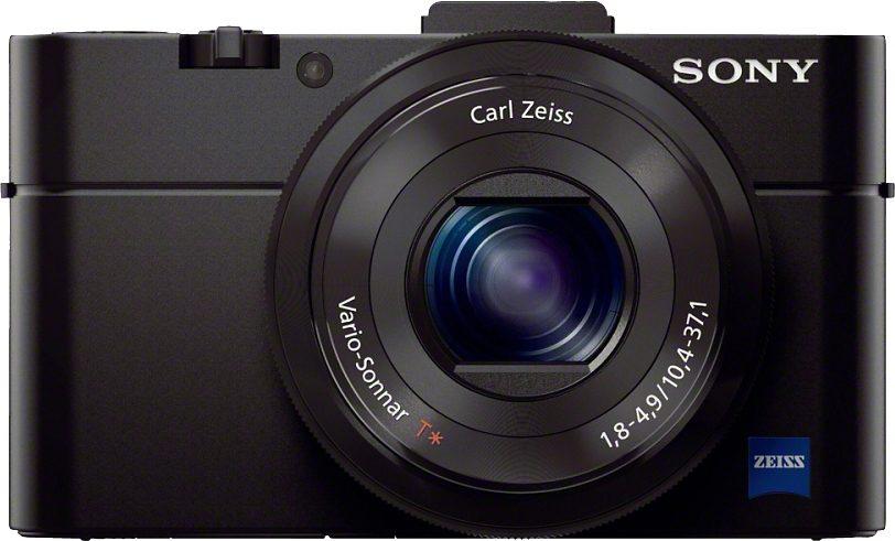 Sony Cyber-Shot DSC-RX100M2 Kompakt Kamera, 20,2 Megapixel, 2,9x opt. Zoom, 7,5 cm (3 Zoll) Display