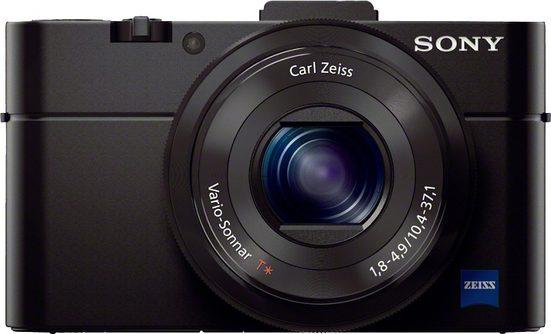 Sony »Cyber-Shot DSC-RX100M2« Systemkamera (Carl Zeiss® F1.8 Vario-Sonnar® T, 20,2 MP, 2,9x opt. Zoom, WLAN (Wi-Fi), Gesichtserkennung, HDR-Aufnahme)