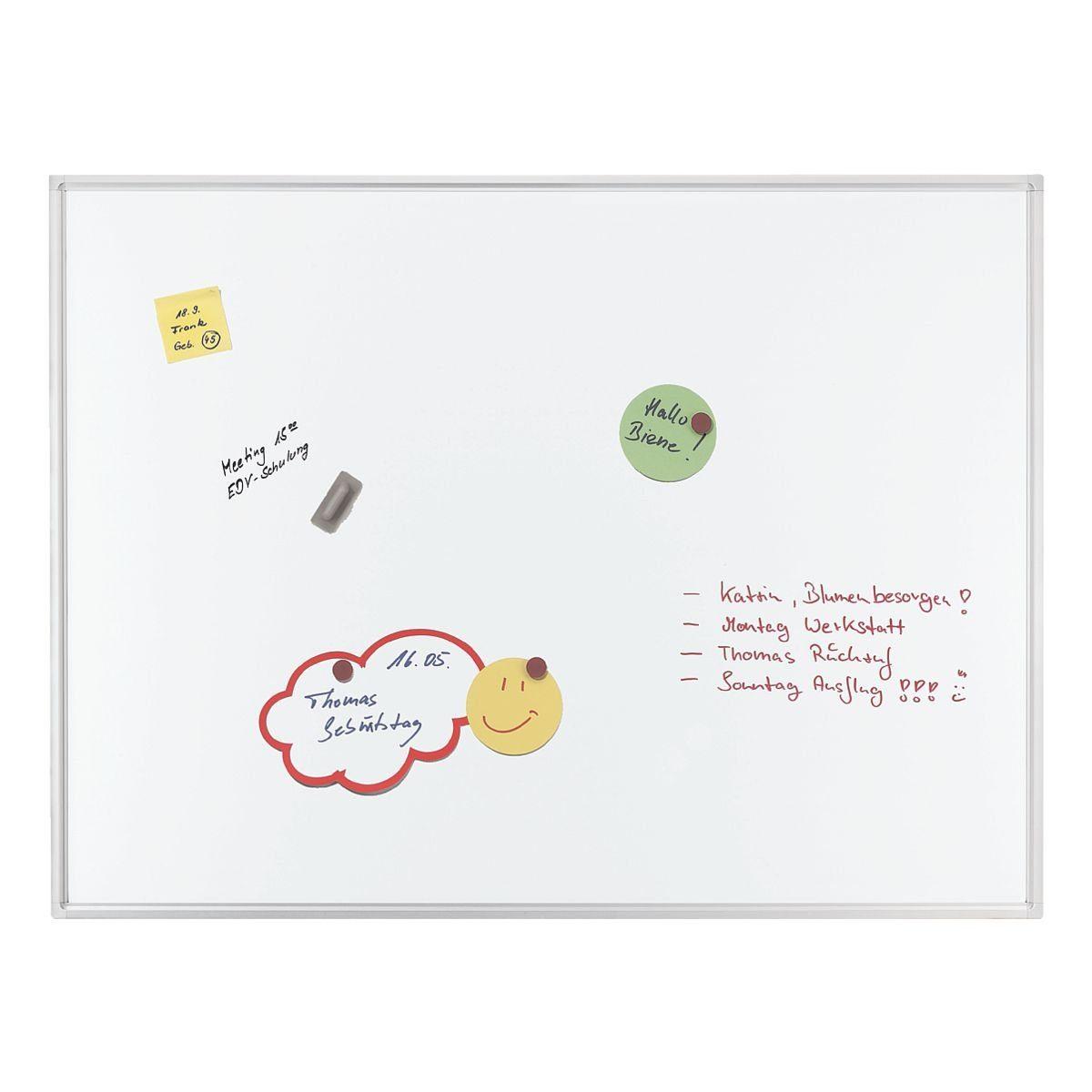 Franken Whiteboard emailliert, 120 x 90 cm »ECO«