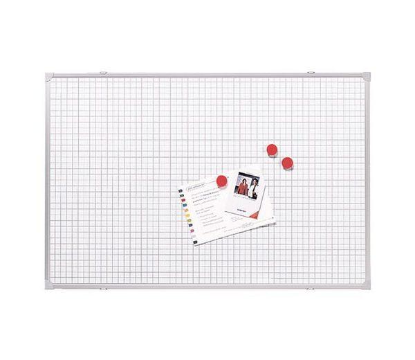 Franken Whiteboard / Weißwandtafel »Raster 10x10 mm«