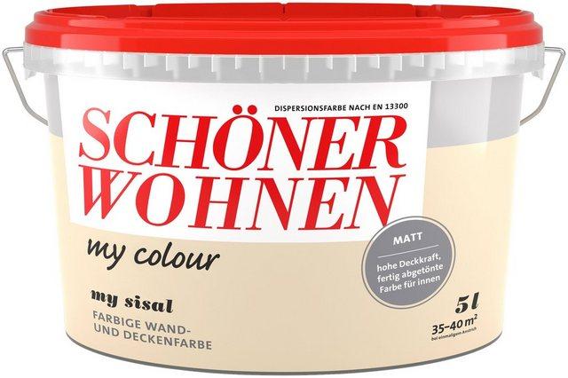 Schöner Wohnen Innenfarbe my colour, my sisal