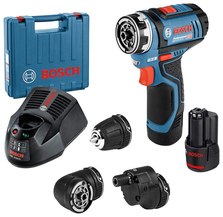 Bosch Akku-Bohrschrauber GSR 12V-15 Bosch LED Lampe GLI 10,8 Zubehör