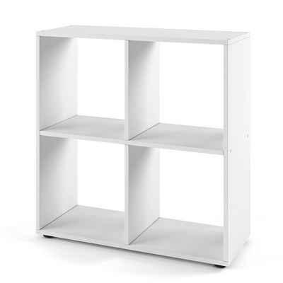 Vicco Raumteiler »TETRA 4 Fächer Weiß - Bücherregal Würfelregal Standregal Regal«