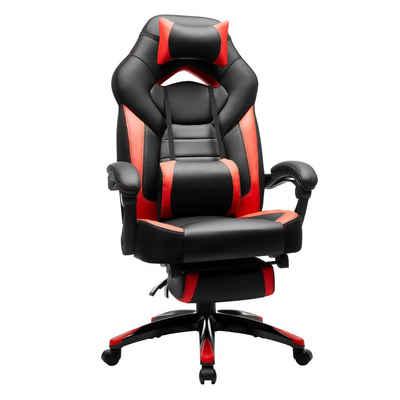 SONGMICS Gaming Chair »OBG77BG OBG77BU OBG77BR OBG077B01«, Chefsessel, Bürostuhl, Schreibtischstuhl, Drehstuhl