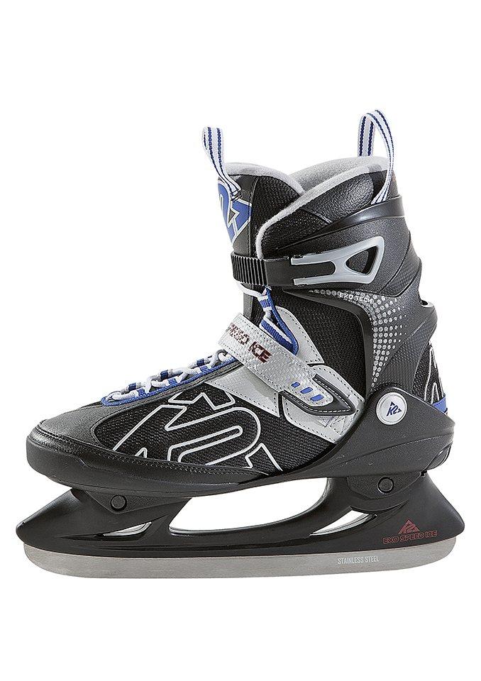 Schlittschuh, K2, »Eish-Complet Exo Speed Ice«, mit Stability Cuff in schwarz