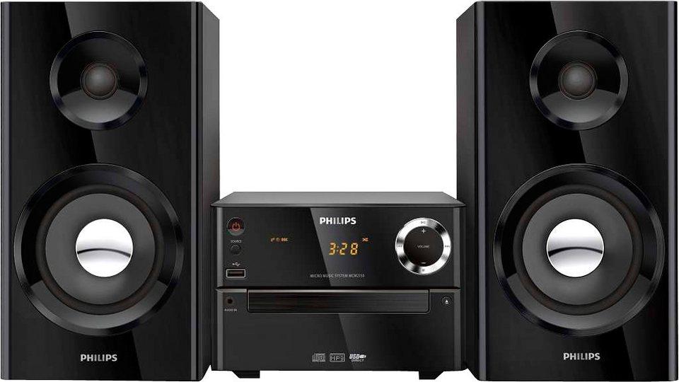 philips mcm2150 12 mini stereoanlage online kaufen otto. Black Bedroom Furniture Sets. Home Design Ideas