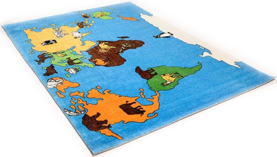 Kinder-Teppich, Theko Kids, »Mamba1« in blau