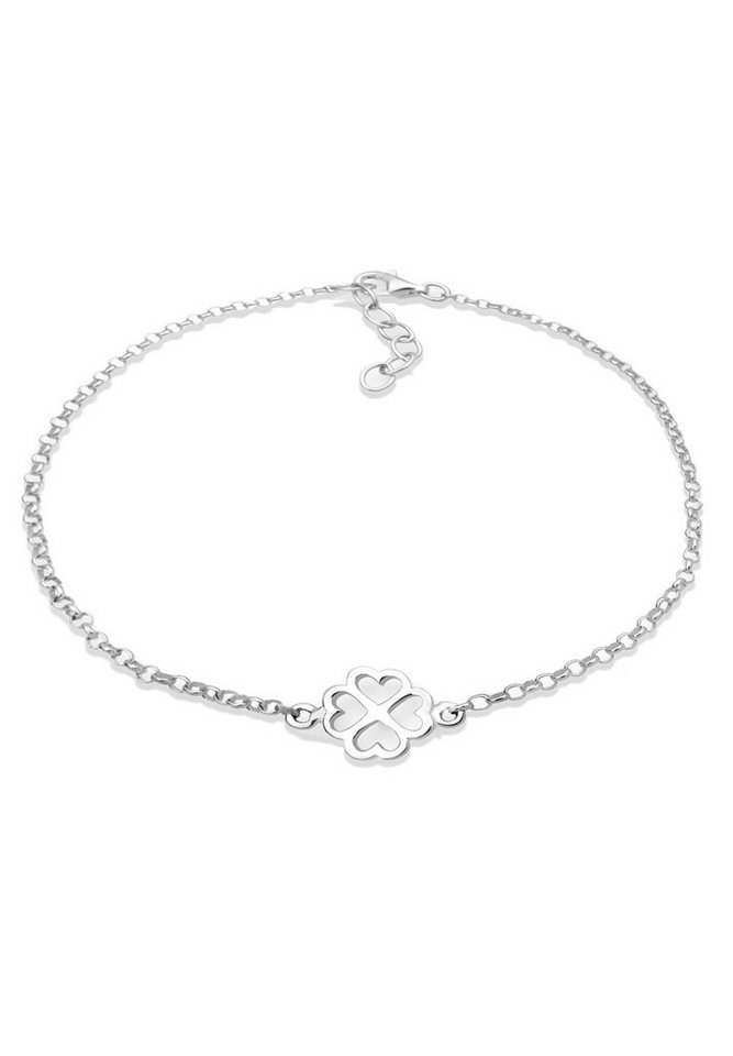 Elli Armband »Kleeblatt Silber« in Silber