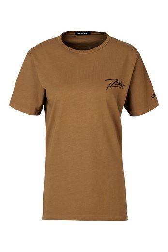 Replay T-Shirt »Single Jersey«