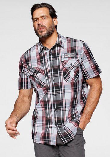 Man's World Kurzarmhemd mit zwei Brusttaschen