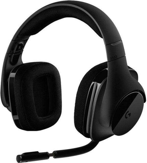 Logitech G »G533 WIRELESS« Gaming-Headset (WLAN (WiFi)