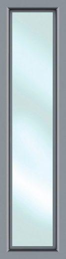 KM Zaun Türseitenteil »S01«, BxH: 50x208 cm, für Alu-Haustür, grau