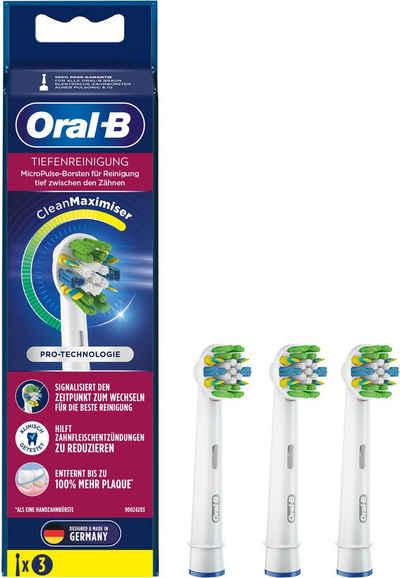 Oral B Aufsteckbürsten »Tiefenreinigung Clean Maxi«