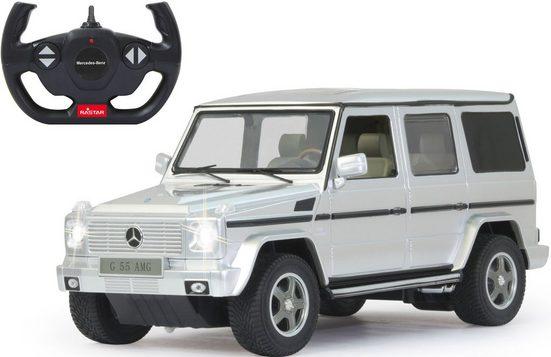 Jamara RC-Auto »Mercedes G55 AMG - 40 MHz weiß«