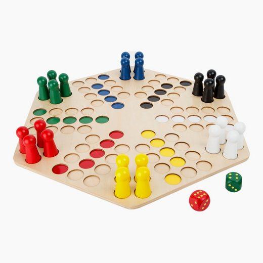 Small Foot Spiel, »Ludo xxl für 6 Spieler«