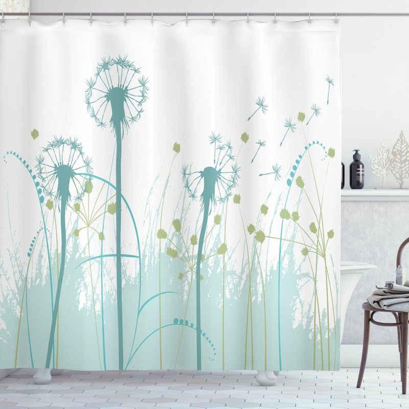 Abakuhaus Duschvorhang »Moderner Digitaldruck mit 12 Haken auf Stoff Wasser Resistent« Breite 175 cm, Höhe 220 cm, Frühling Blumen Botanik Blooms