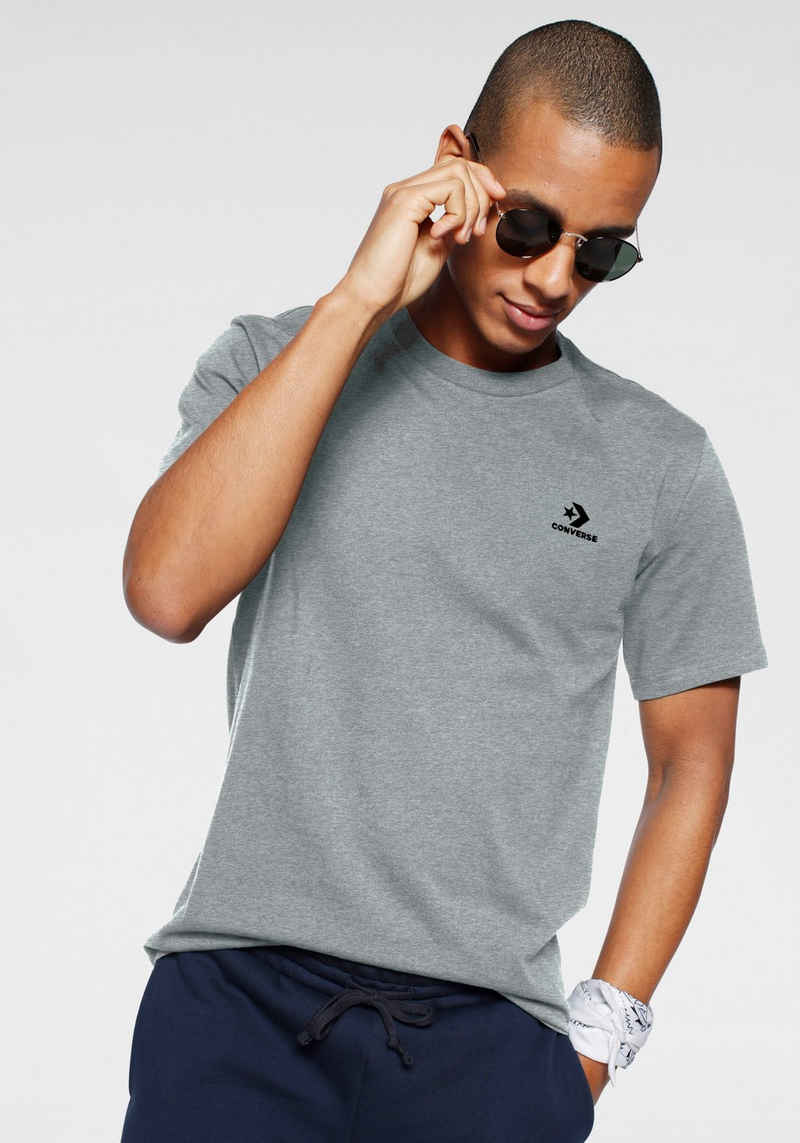 Converse T-Shirt »MENS EMBROIDERED STAR CHEVRON LEFT CHEST TEE«