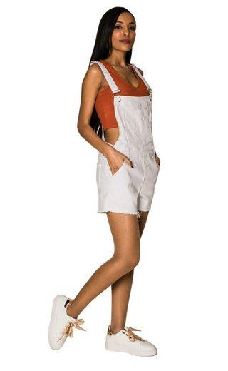 Simply Chic Jeansshorts »3236« Damen Jeans Latzshorts Denim Pants