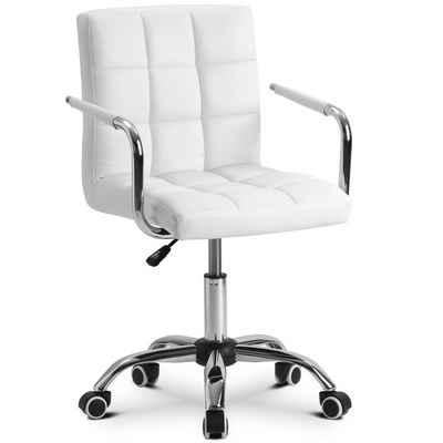Merax Drehstuhl »Koios«, Kunstleder Office Chair höhenverstellbar Drehstuhl für Büro/Wohnzimmer