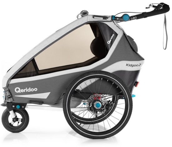 Qeridoo Fahrradkinderanhänger »KIDGOO 2 SPORT«
